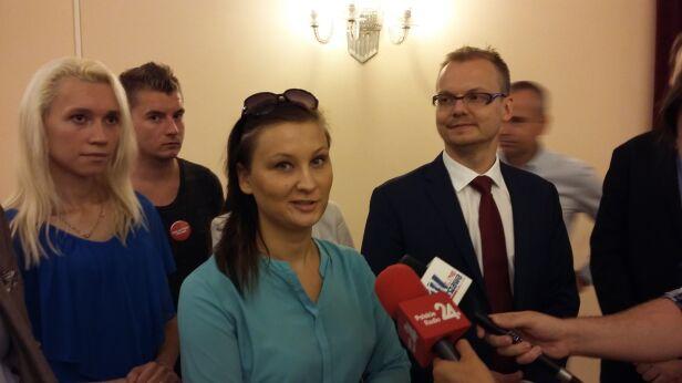 Radna powiedziała o swoim odejściu na konferencji tvnwarszawa.pl