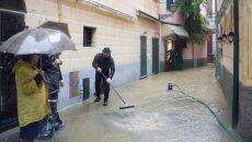 Podtopienia w Genui po ulewach (PAP/EPA/FRANCO BOLZONI)