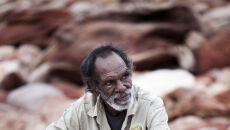Richard Hunter, członek starszyzny plemienia Goolarabooloo