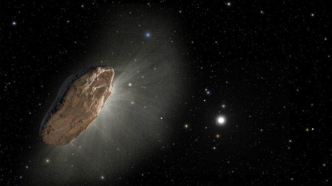 """Oumuamua może być """"sondą umyślnie wysłaną w kierunku Ziemi przez obcą cywilizację"""""""