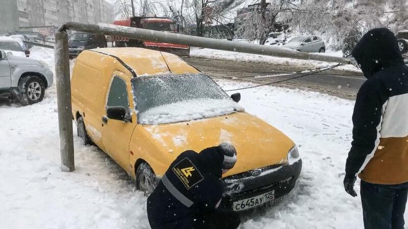 Trudne warunki pogodowe w Kraju Nadmorskim (ENEX)