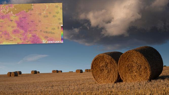 Pogoda na 5 dni: upał nie odpuszcza, miejscami pojawią się burze