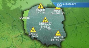 Warunki pogodowe we wtorek 05.01